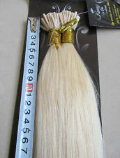 "New 20"" Human Hair Extensions I-Tip 100S 50g Blond #60"