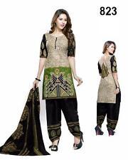 Designer Salwar Kameez Suit INDIAN PAKISTANI BOLLYWOOD ANARKALI DRESS SALWAR D22