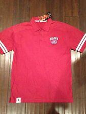 Montreal Canadiens NEW Men's Medium Mike Polo Shirt . NHL Hockey Collared Golf