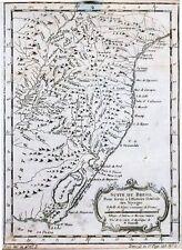 Antique map, Suite De Bresil