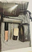Anastasia Beverly Hills 4xmini Kabuki Brush, Tweezer, bag + Lip Gloss Authentic
