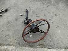 CLASSIC FIAT 124 SPIDER COMPLETE STEERING COLUMN/SWITCHES/WHEEL! FOR SPARES NO 2