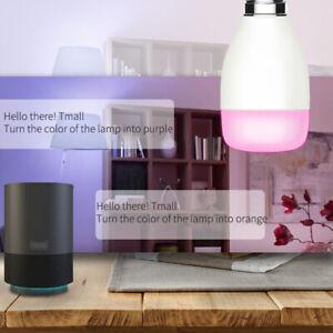 Wifi Smart LED Light Bulb Voice Control RGB Lamp Alexa Night Light E27 E26 B22