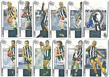 2005 SELECT LIMITED DYNASTY COLLINGWOOD FOOTBALL CARD SET