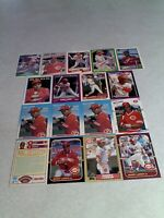 *****Barry Larkin*****  Lot of 100+ cards.....81 DIFFERENT / Baseball