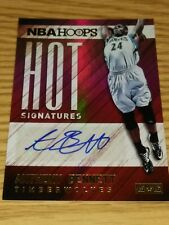 Anthony Bennett TIMBER WOLVES 2015-16 Hoops Hot Signatures ROOKIE AUTOGRAPH CARD