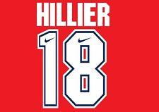 Arsenal 1994-1995 Hogar Fútbol Hillier #18 Camiseta local para