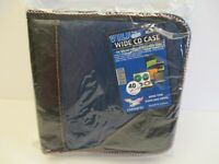 Chendfei 40 Capacity CD DVD VCD CD-R Wide Square Sleeve Holders Case New In Pkg