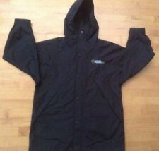 Port Authority Black 3/4  Rain Coat Size Small with Duracell  Embroidery