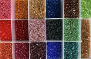 Swarovski@ Crystal #5301 3mm Bicones Beads -- 100pcs per order in plastic bag