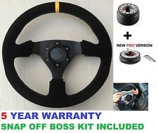 SNAP OFF STEERING WHEEL AND BOSS KIT HUB FITS FORD FIESTA MK6 MK7 ALL FORD FOCUS