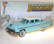 Brooklin BRK 197, 1955 Lincoln Capri 4-Door Sedan, weiß/türkis, 1/43 Limousine