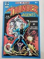 HALL OF FAME FEATURING THUNDER AGENTS #1 & 2 (1983) JC COMICS WALLY WOOD! RARE!