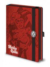 DC Comics Harley Quinn Premium A5 Bound Cuaderno 100% oficial de calidad Merch