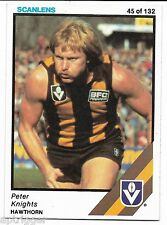1984 Scanlens (45) Peter KNIGHTS Hawthorn Near Mint #