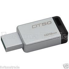 128GB Kingston DataTraveler Micro DT50/128GB Speicherstick USB 3.1 silber-schw