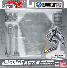 Tamashii Stage Act 5 Mechanics Clear Stand Bandai USA Seller