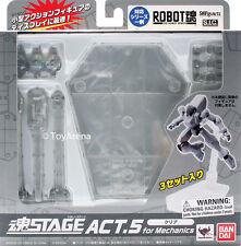 Tamashii Stage Act 5 Mechanics Clear Stand Bandai USA Seller