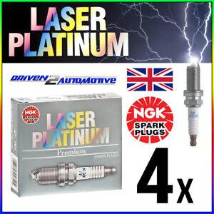 PFR7B (4853) NGK LASER PLATINUM SPARK PLUGS SET OF 4 *SALE* WHOLESALE PRICE NEW