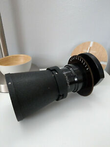 RARE Taylor Hobson Ortal 5 inch 127mm f/2.8 T3.1 w/ Lens Hood - FULL FRAME