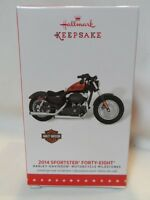 2015 Hallmark Keepsake Ornament Harley Davidson 2014 Sportster Forty-Eight B38