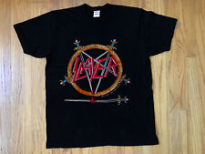 Vintage Slayer 1991 Hell Awaits T-Shirt REPRINT #