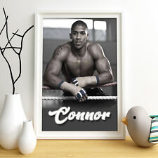 ANTHONY JOSHUA Personalised Poster A4 Print Wall Art Custom Name✔ Fast Delivery✔