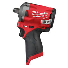 Milwaukee 2555-20 M12 FUEL Stubby 1/2 in. Impact Wrench (Bare Tool) New