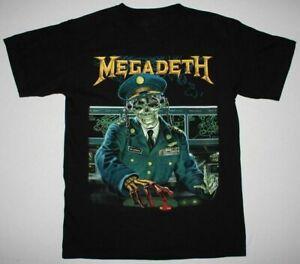 MEGADETH HOLY WARS BLACK T SHIRT SPEED THRASH METAL ANTHRAX EXODUS METALLICA