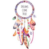 3D DIY Iron-on T-Shirt Clothes Patches Dream Catcher Transfer Sticker Crafts