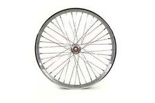 """21"""" Front Spool Hub Wheel, 40 chrome spoke, 5/8"""" inner diameter bearings"""