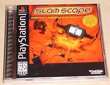 Slam Scape slamscape PlayStation 1 PS1 PS2 2 ps one PSX original game complete