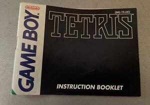 Tetris - manual only - Nintendo Gameboy