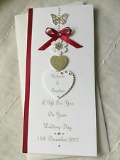 Personalised Gift Voucher/Money Wallet Wedding Anniversary Engagement Birthday