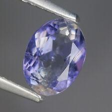 0.73 Ct Natural Africa Purple Violet IOLITE Oval Gem @ See Video !!