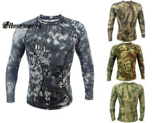 Outdoor Hunting T-shirt Tactical Wicking Long-Sleeved T-shirt Wear Breathable