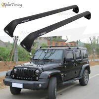 Roof Rack Cross Bar for 2018 2019 JEEP Wrangler JL & 2007-2018 Jeep Wrangler JK