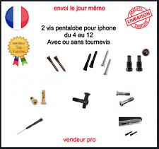 2 Vis Pentalobe Torx Iphone 4 5 5S SE 6 6S 6+ 7 7+ 8 8Plus X XS XR 11 12 Pro Max