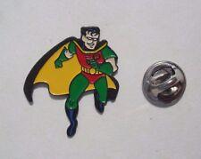 Comic Batman ROBIN  DC Comics 1992 RARE Vintage MINT Enamel METAL PIN BADGE Pins