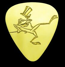 MICHIGAN J FROG - Solid Brass Guitar Pick, Acoustic, Electric, Bass