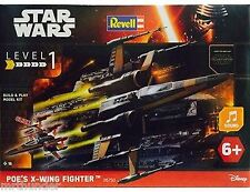 Star wars: poe's x-wing fighter construction kit revell 1:78 scale snapfix