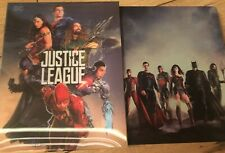 JUSTICE LEAGUE 4K UHD + 2D Blu Ray HDZeta STEELBOOK Lenticular