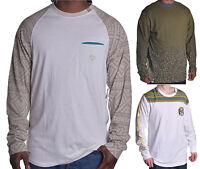 LRG Lifted Research Group Men's Long Sleeve Crewneck T Shirt Choose Color & Size