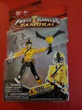 NEW Bandai 2011 Power Rangers Samurai Action Figure Yellow Earth Mega Ranger