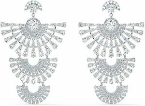 Swarovski Sparkling Dance Dial Up Pierced Earrings