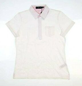 New Womens Ralph Lauren Golf Polo Shirt 281734291002 W Spring 19 White MSRP $98