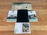 07 2007 Jaguar XK Owners Manual + Nav Operator Books Set W/ Case OEM