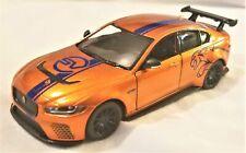 Kinsmart - 1:38 Scale Model Jaguar XE SV Project 8 Orange (BBKT5416DFO)