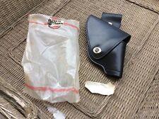 """Don Hume Leathergoods Black Leather Detroit Swivel RH Holster For 1""""-2"""" Barrel-"""