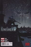THE PUNISHER (2016) #14 MARVEL COMICS  COVER A 1ST PRINT